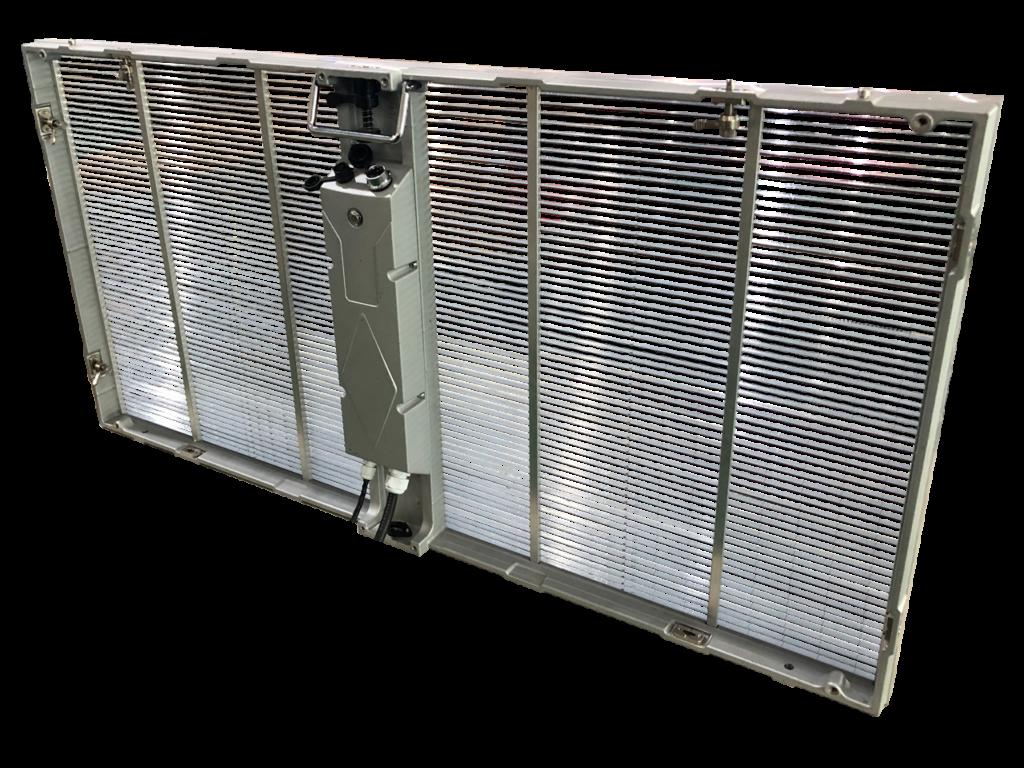 Прозрачный экран SIDE LED