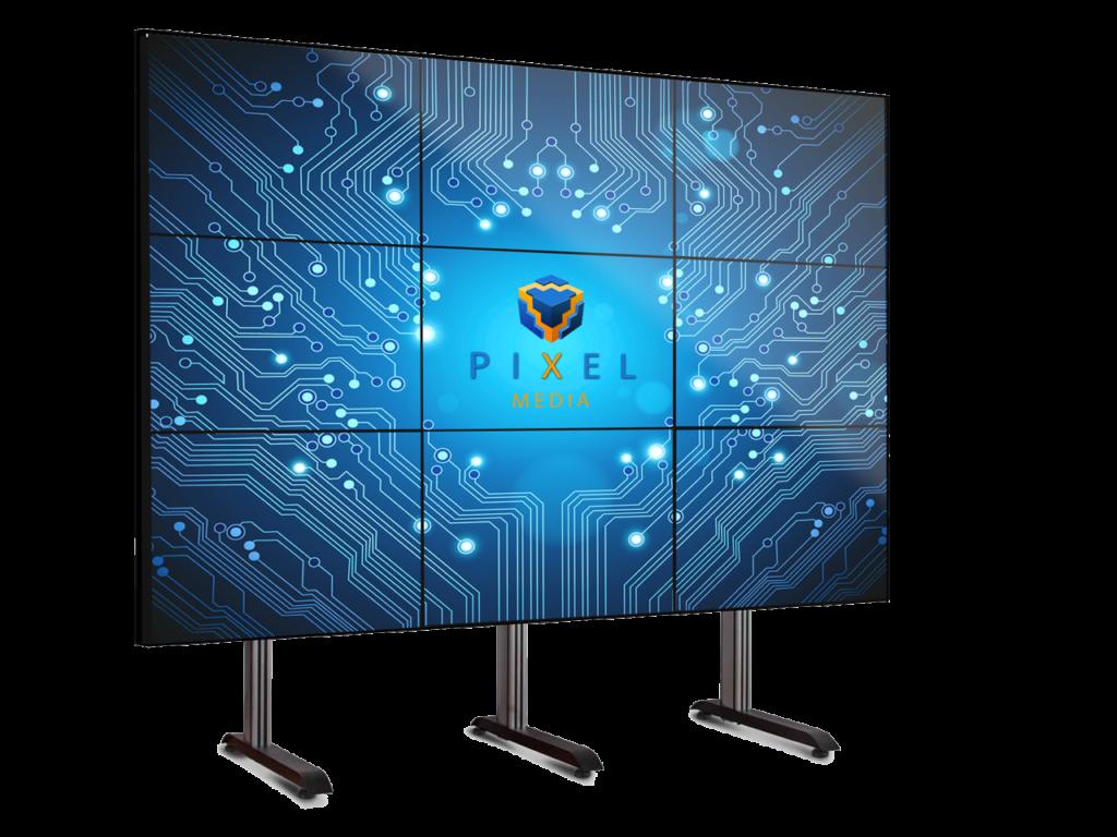 Видеостены LCD мониторы.